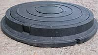 Люк полимерпесчаный черный, нагрузка 16.0 т. в Запорожье, фото 1