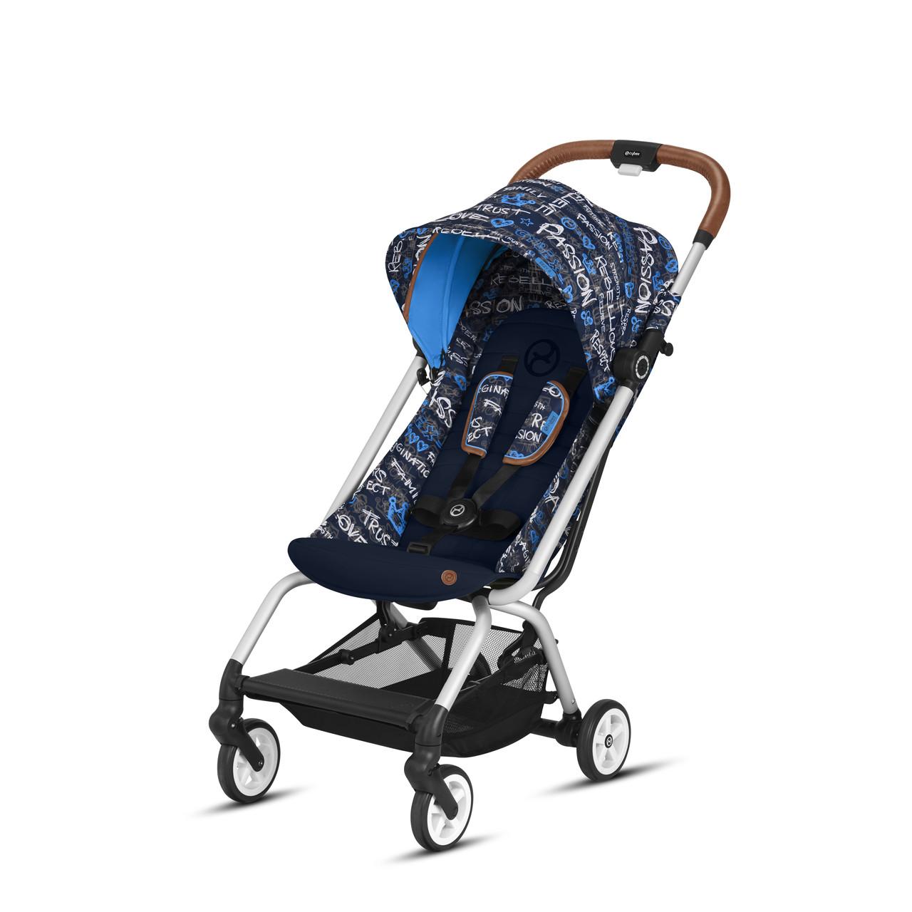 Cybex - Прогулочная коляска Eezy S Values for life, цвет Trust blue