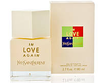 Женская туалетная вода Yves Saint Laurent In Love Again La Collection, 80ml (нежный, свежий, цветочный)