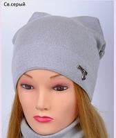Красивая модная весенняя шапка для девушки , фото 1