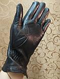 Кожа-натуральная с шерсти сетка женские перчатки только оптом, фото 2