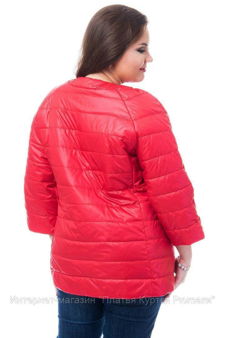 6cfbf8fafda ... рр Женская демисезонная удлиненная куртка большого размера