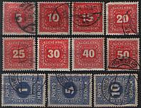 Почта Австрии 1916 п/с