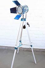 Торшер светильник прожектор с открывающимися рефлекторами в стиле лофт Модель 5