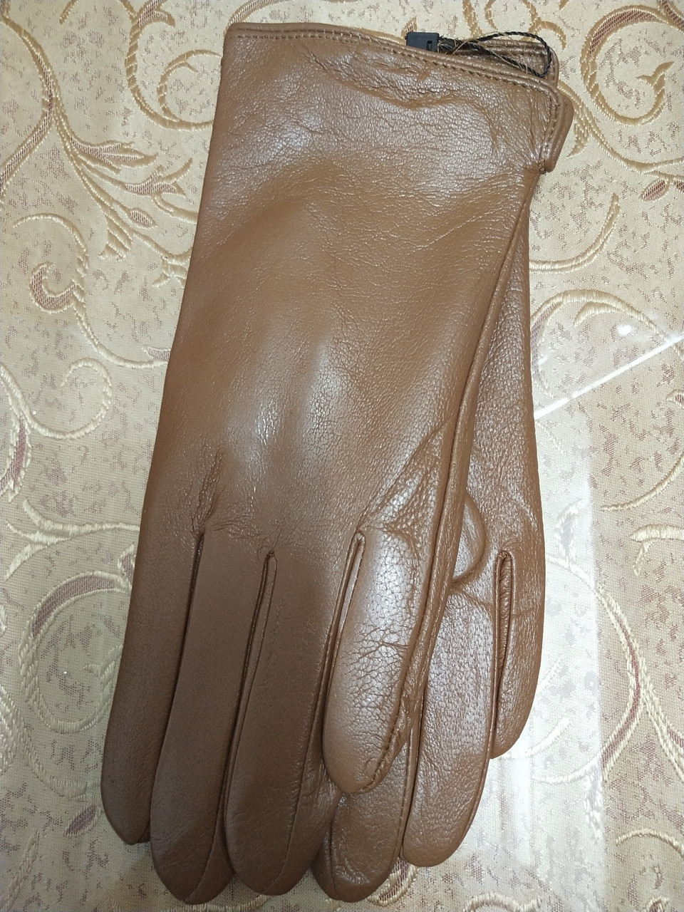 Кожа натуральная с Флис женские перчатки только оптом