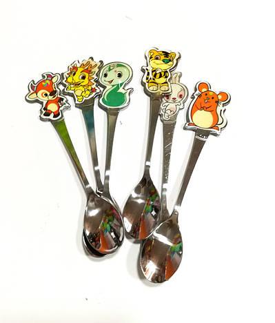 Набор детских десертных ложек 6 шт