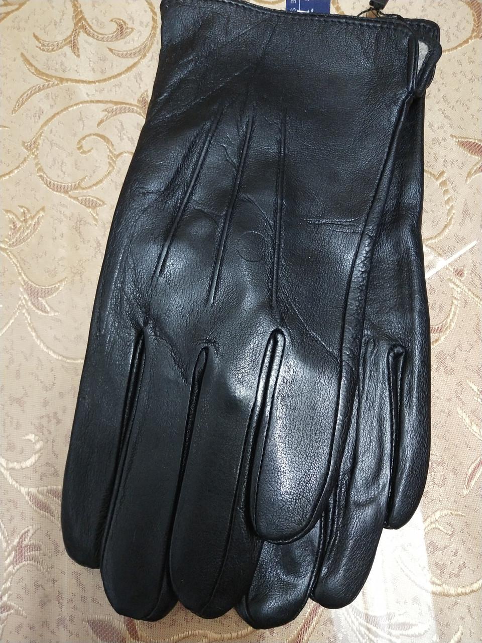 Кожа натуральная с шерсти сетка мужские перчатки только оптом