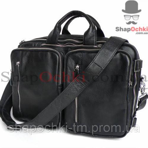 5c671b7b Сумка рюкзак мужская Jasper&Maine 7041A, кожа, черная: 3 530 грн ...