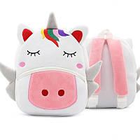 Рюкзак велюровый Unicorn Berni