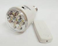 Лампа аккумуляторная с 7 SMD LED GDLITE GD-5007s на солнечной батарее с пультом, фото 1