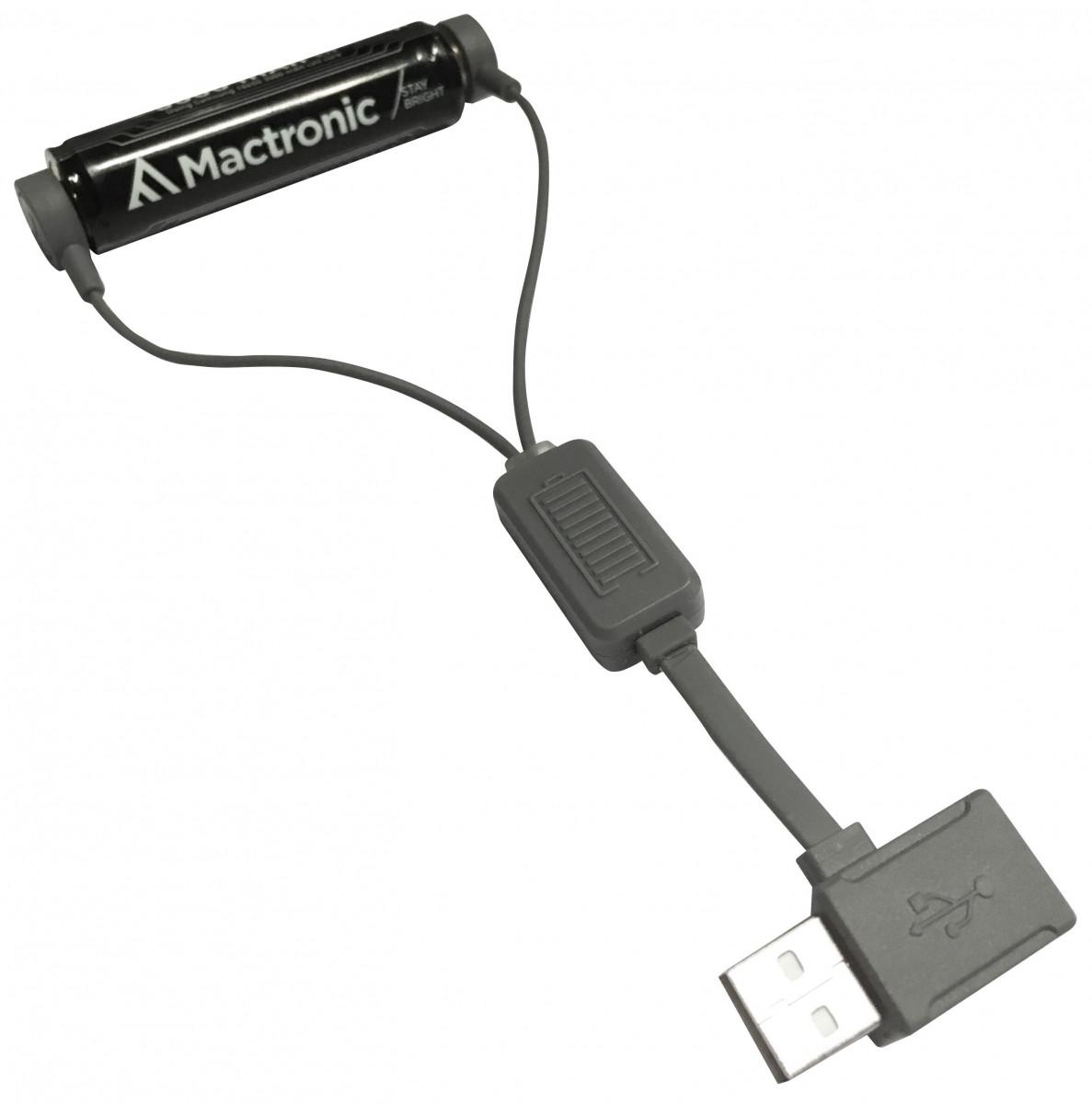 Магнітний зарядний пристрій Mactronic USB з функцією PowerBank
