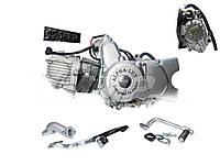 Двигатель Дельта/Алфа JH125 см3 механика +карбюратор Alphalux, фото 1