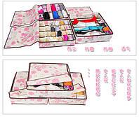 Набор Органайзеров для одежды 3в1 с крышками №302, фото 1