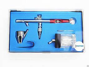 Аэрограф, сопло: 0,2 мм, 0.3 мм, емкость 2 мл, PA-SL300 PARTNER