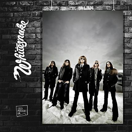 Постер Whitesnake. Размер 60x42см (A2). Глянцевая бумага, фото 2