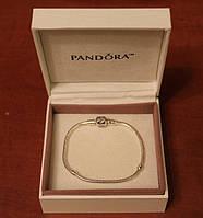 Браслет Pandora Пандора серебряное украшение на руку серебро 925 с упаковкой