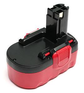 Аккумулятор PowerPlant для шуруповертов и электроинструментов BOSCH GD-BOS-18(A) 18V 1.5Ah NICD