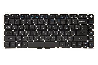 Клавиатура для ноутбука ACER Aspire E5-422, E5-432 черный, без фрейма
