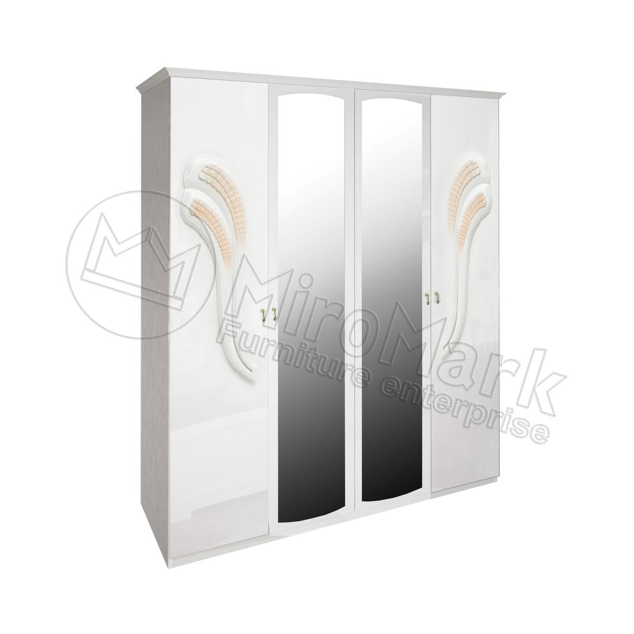 Шкаф 4Д Лола (зеркала) MiroMark