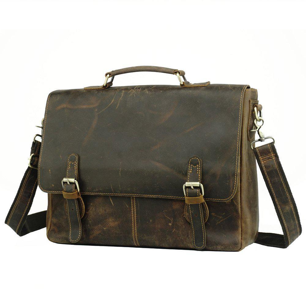 1cc5520df7e6 Мужской Кожаный Портфель TIDING BAG T0021 — в Категории