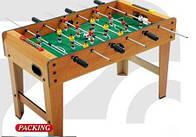 Футбол ZC1017В  деревянный, на ножках, в кор-ке 80-42-50 см