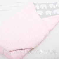 """Детский плед для новорожденных и детей до 2 лет, конверт - одеяло плед на выписку """"Джунгли"""", 80*80см"""