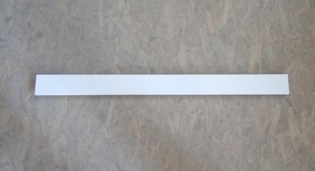 Панель заглушка для подіумів кутових металевих стелажів