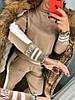 Костюм прогулочный вязка с вышивкой 048, фото 7