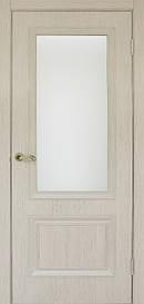 Дверь Флоренция 1.1 стекло сатин экошпон