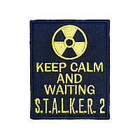 "Патч на липучке ""Keep Calm and waiting S.T.A.L.K.E.R.2"""