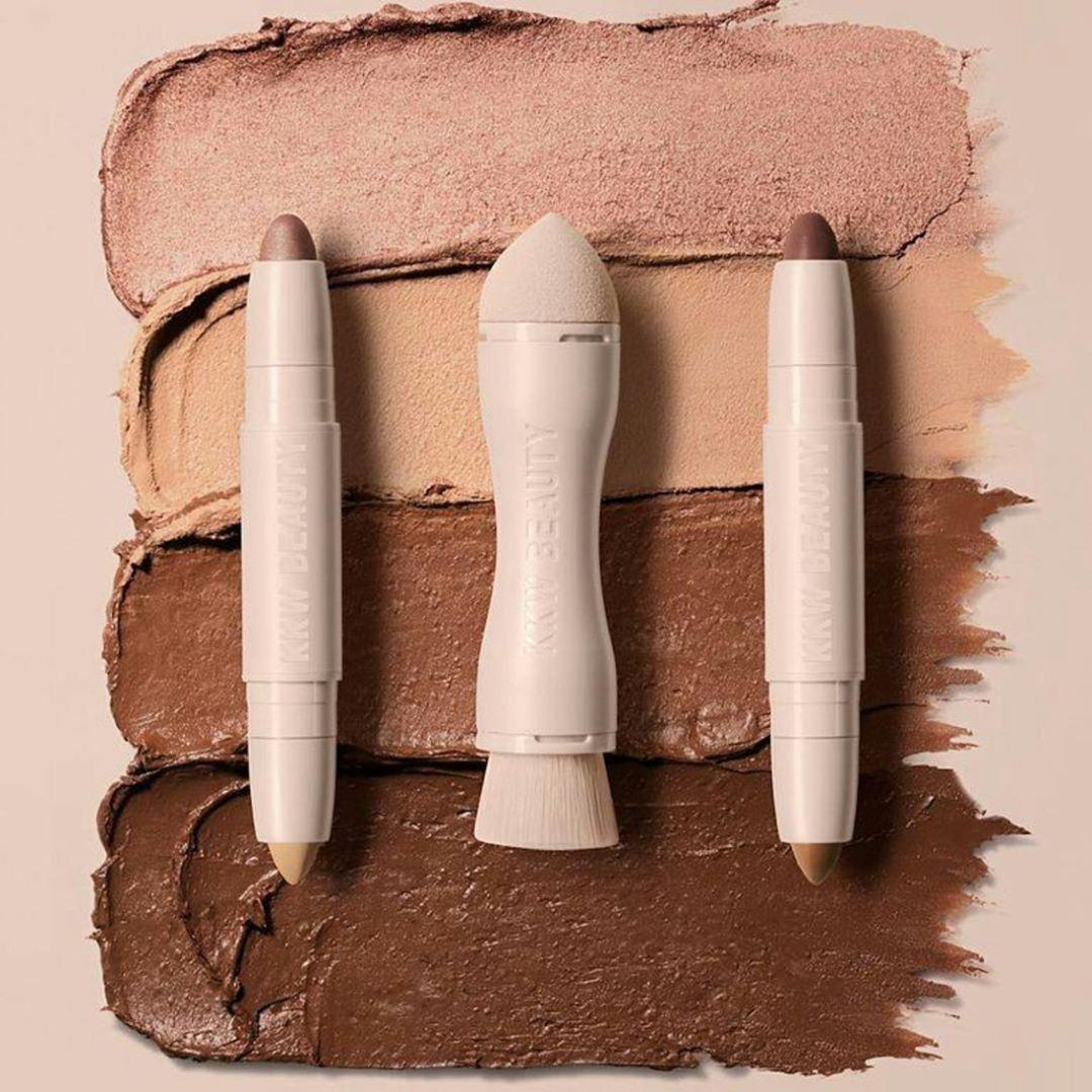 Кремовый корректор и хайлайтер 2 в 1 Kylie KKW Beauty