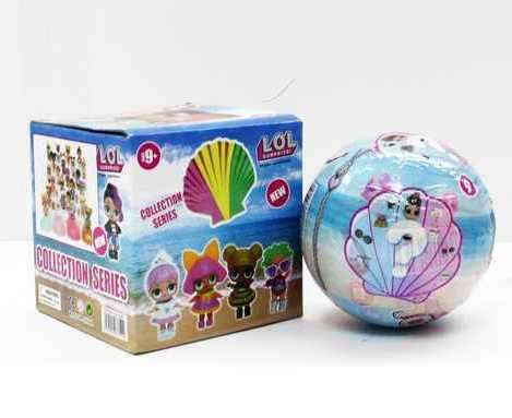 """Кукла сюрприз """"LOL Pearl"""" Ракушка"""" в шарике, фото 2"""