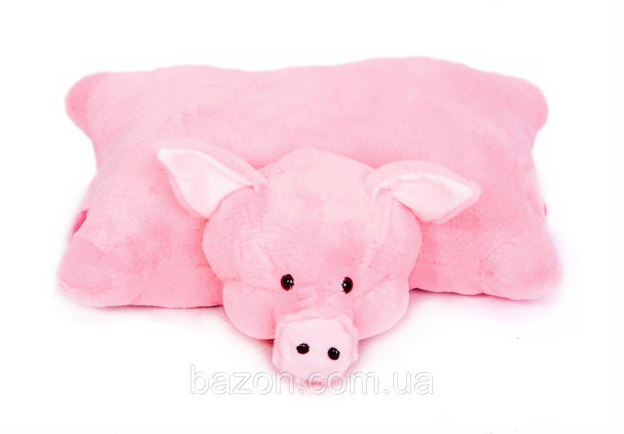 Мягкая игрушка Подушка Свинка