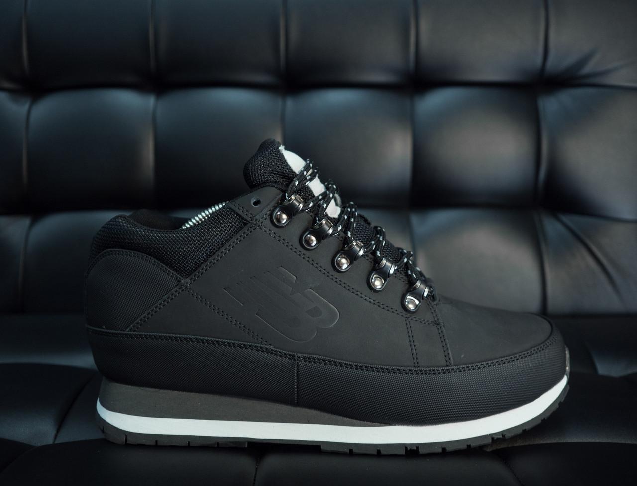 e83f1a6b Мужские зимние кроссовки New Balance 754 черные с белой подошвой топ  реплика - Интернет-магазин