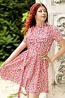 """Платье """"Red spring"""", фото 1"""