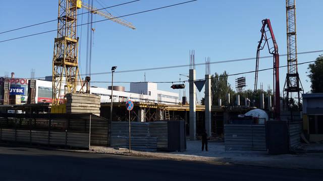Строительство 2-ой очереди ТРЦ Appolo 4