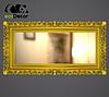 Зеркало настенное Bogota в бело с золотом раме, фото 8
