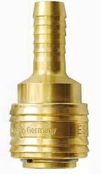 Быстроразъемные соединения (муфта)  для воздуха DN 7,2 ножка под шланг   10мм.
