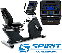 Профессиональный горизонтальный велотренажер Spirit CR900