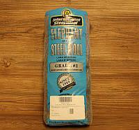 Стальная вата, шерсть, 2, Steel Wool, 200 грамм, Elephant