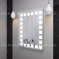 Зеркало с LED подсветкой (60*80*3см) PR-D9 с включателем кнопкой