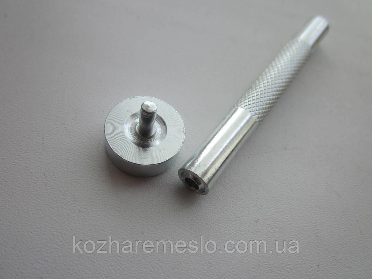 Інструмент для установки люверса 5 мм (10 х 6 х 4,8 мм)