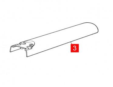 Корпус MOBY4, WINGO4 передний верхний (BMGWAAR02.45673)