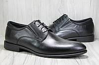 Кожаные мужские классические туфли под брюки Bertoni, фото 1