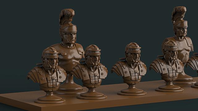 3D -печать дизайнерских шахмат