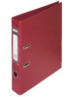 Папка-регистратор двухсторонняя ELITE А4 50 мм бордовая