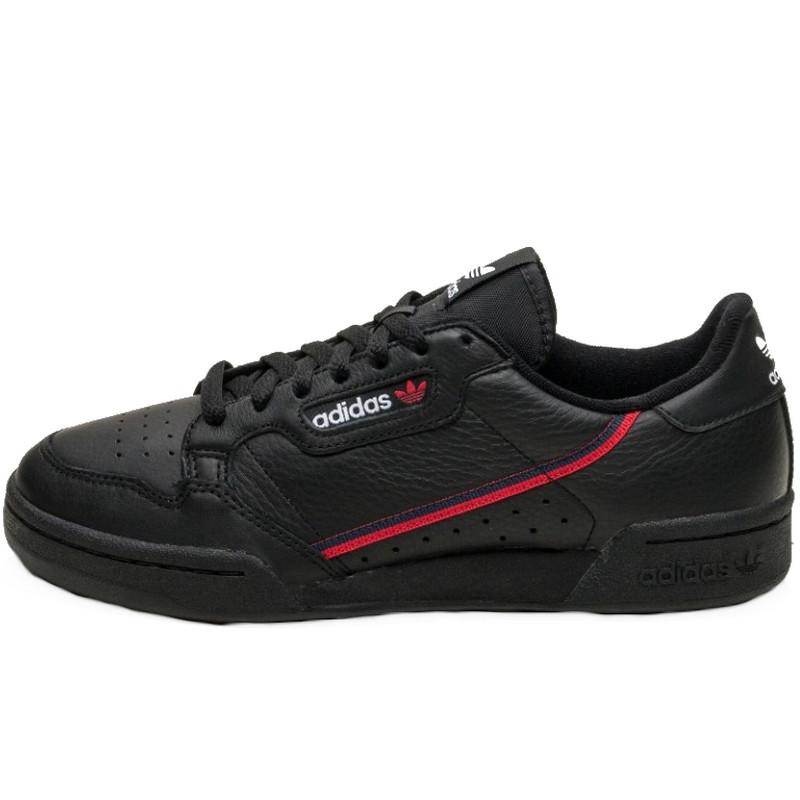 Кроссовки мужские Adidas Continental 80 (черные) Top replic
