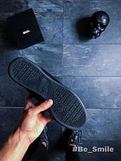 Кроссовки мужские Adidas Continental 80 (черные) Top replic, фото 3