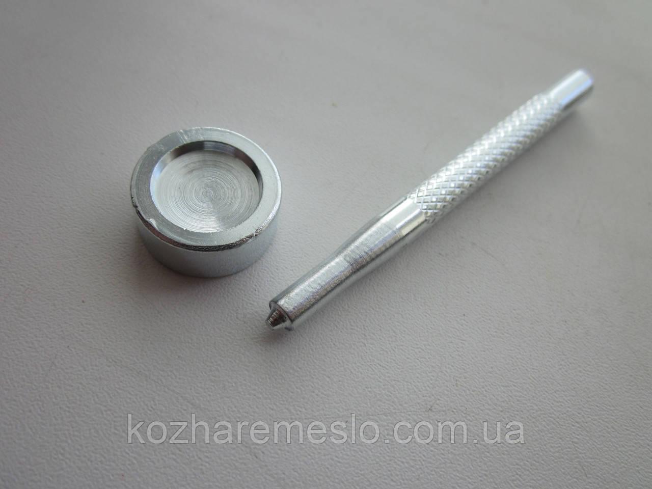 Инструмент для установки кнопки каппа 15 мм
