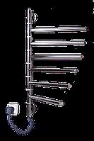 Полотенцесушитель ELNA Вертикаль 6 поворотный нерж.с терморегулятором